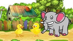 Tả con voi lớp 3